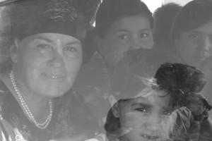 Usbekische Frauen unterwegs